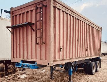 Прицеп-контейнеровоз - выкуп в Ростове-на-Дону